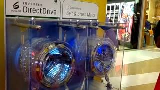lg washing machine direct drive with 6 motions