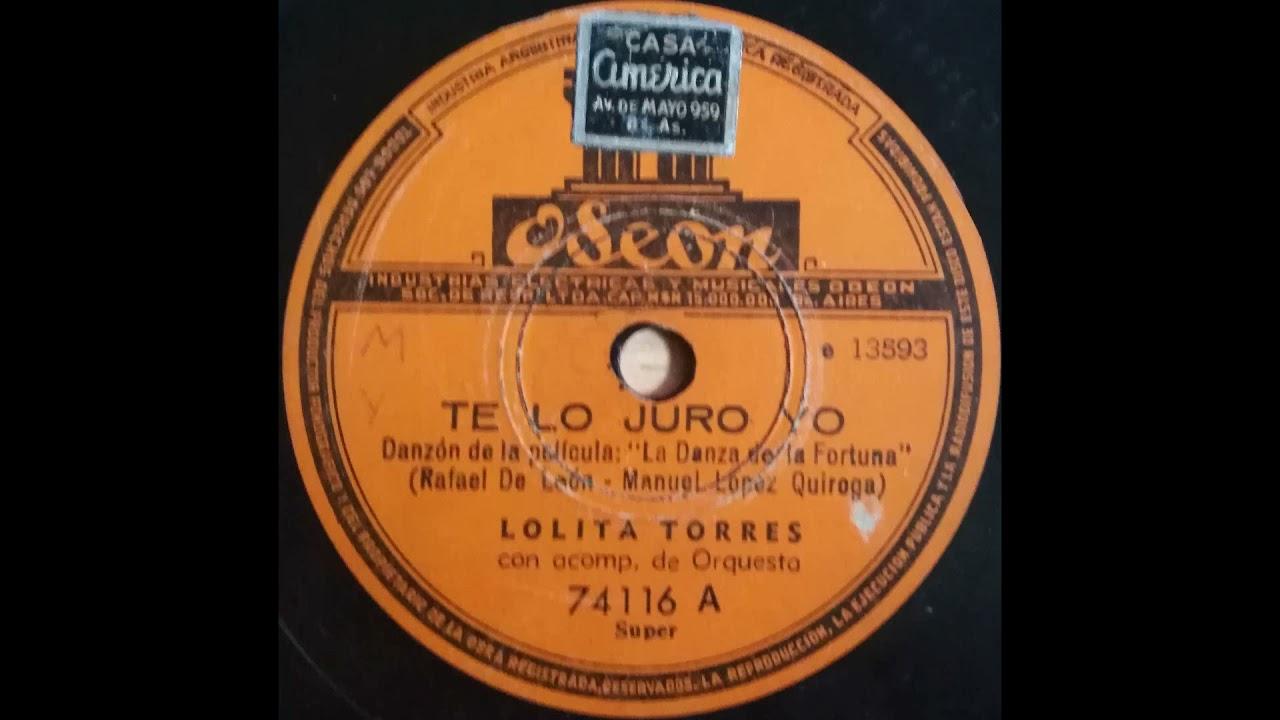 Lolita torres Te lo Juro yo - El gitano Jesus