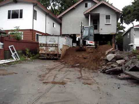 Cost Of Adding A Basement To An Existing House. Excavating Under A House