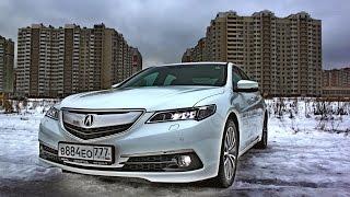 Acura TLX 2015 тест драйв. Что удивило в новом седане?