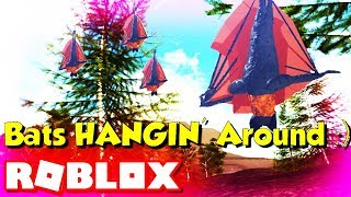 Roblox Cenozoic Survival Bats (JUST HANGIN' AROUND) Wild Animal Games 2019