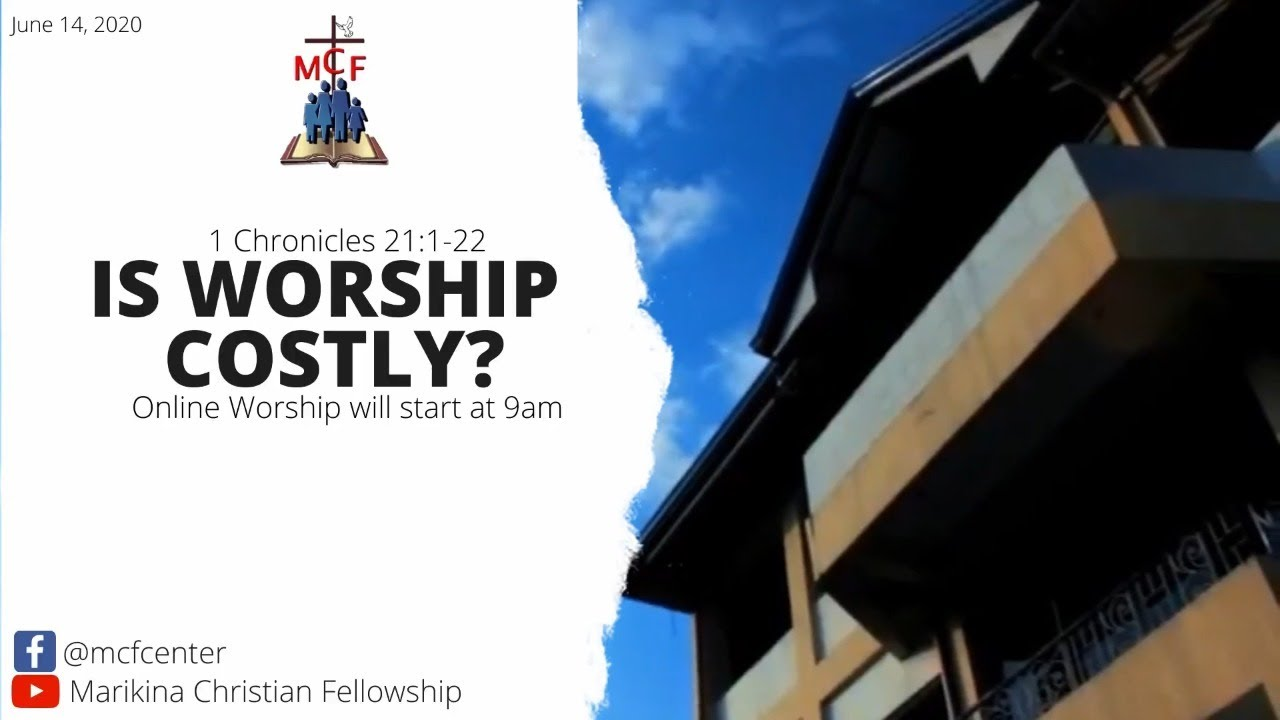 LIVING SACRIFICES: IS WORSHIP COSTLY? (Week 13)
