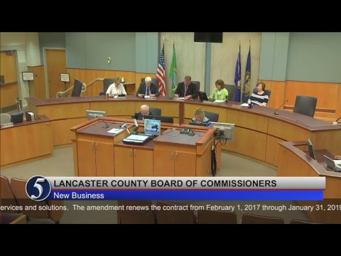 Lancaster County Board of Commissioners May 16, 2017