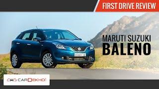 Maruti Baleno | First Drive | Review | CarDekho.com