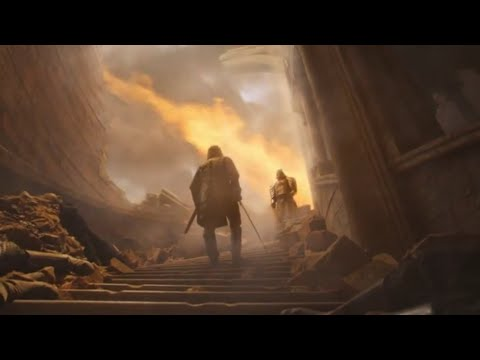 Смерть братьев Клиган. Пёс убивает гору. Игра престолов 8 сезон 5 серия.