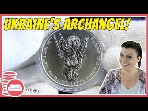 1 Oz. Silver Archangel Michael 2017 Bullion Coin