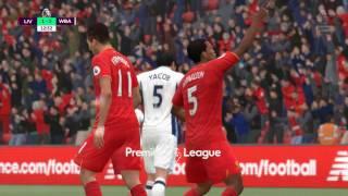 Video Gol Pertandingan Liverpool vs West Bromwich Albion