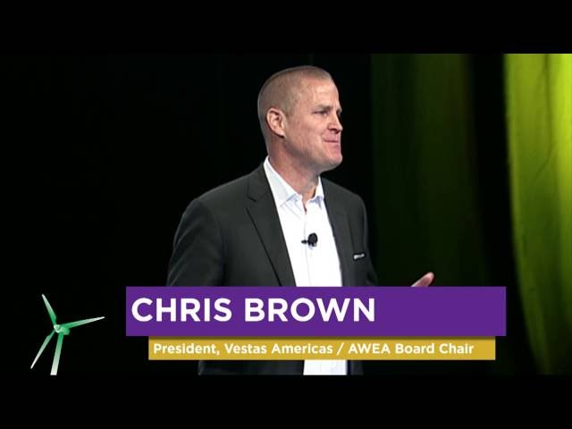 AWEA Board of Directors Chair, Chris Brown  - Buy American