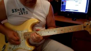 Eagles - Hotel California (solo guitar) cover by Alexander Pitko