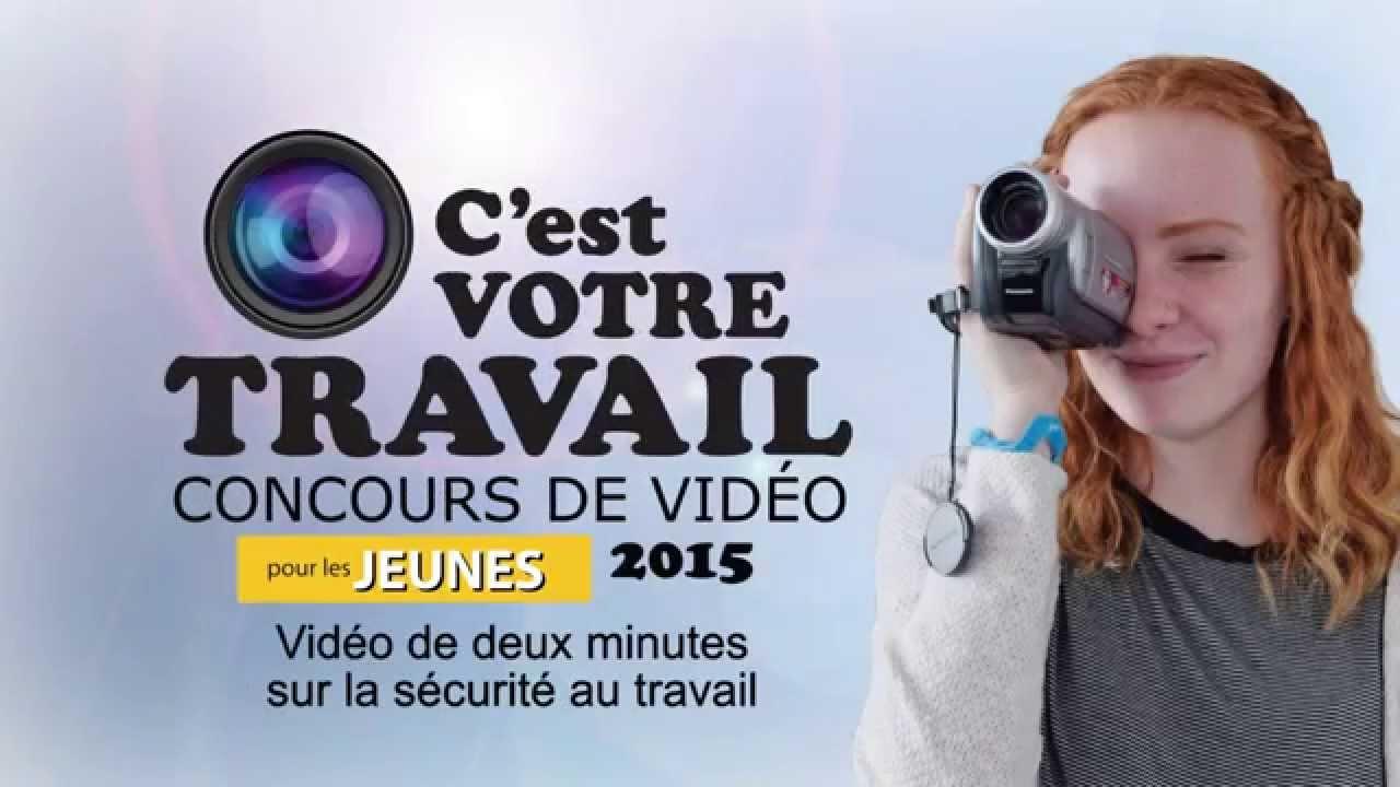 « C'est votre travail » - Concours de vidéos pour les jeunes 2015 (publicité) - YouTube