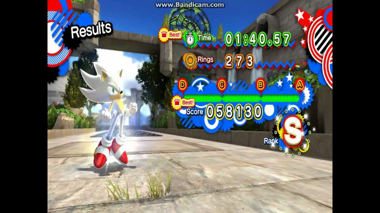 Sonic Generations Hyper Sonic V4(outdated) in Rooftop Run - Request