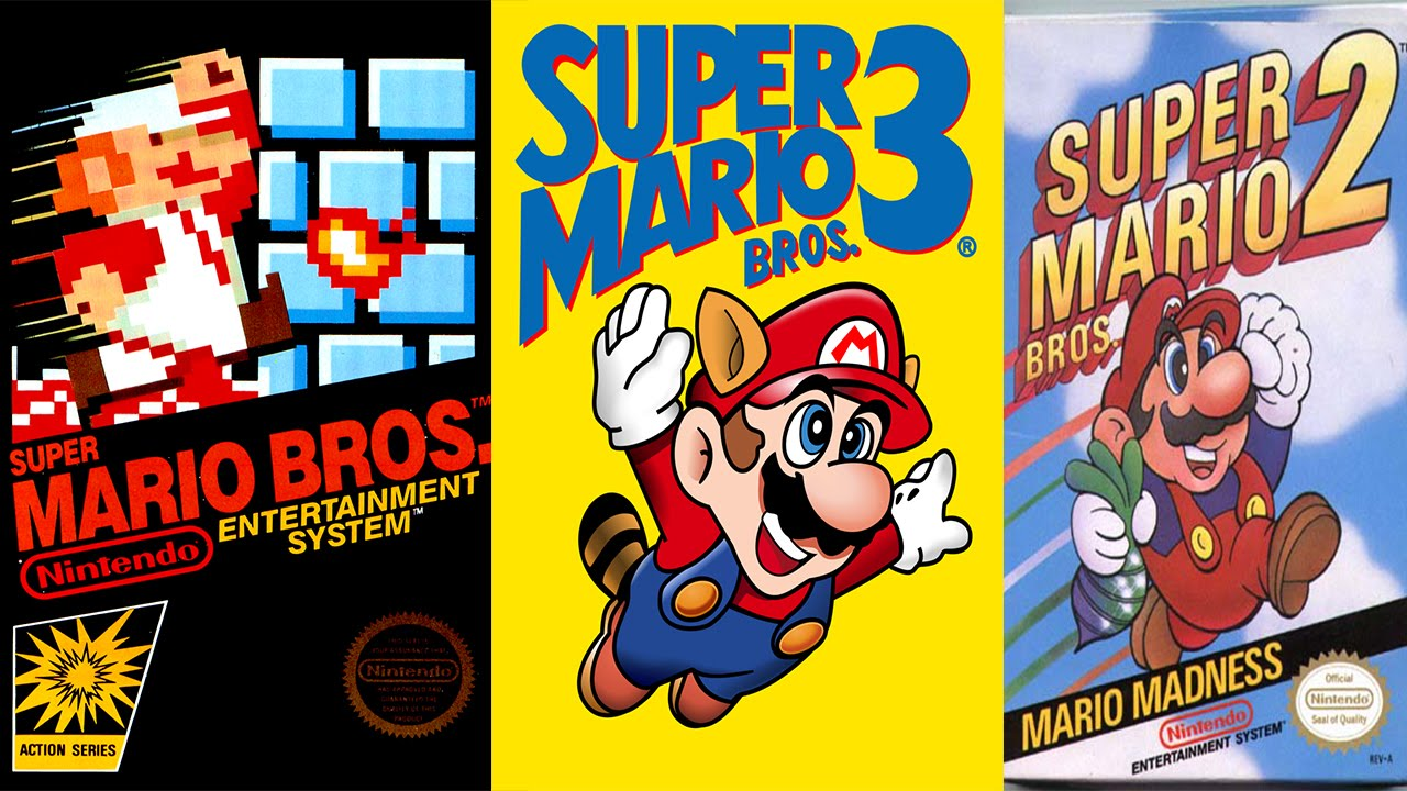 Coleccion Super Mario Bros 1 2 3 Para Android Apk Youtube
