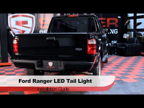 Spyder Auto Installation 2001 05 Ford Ranger Led Tail Lights