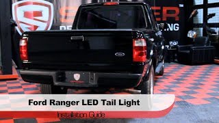 Spyder Auto Installation: 2001-05 Ford Ranger LED Tail Lights