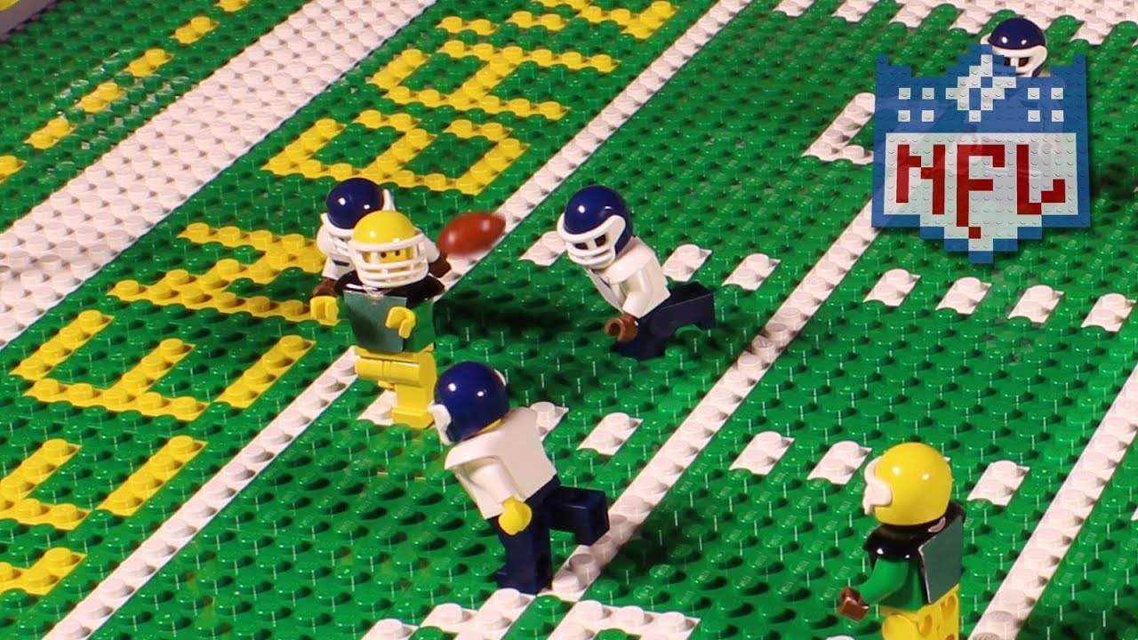 NFL: Seattle Seahawks @ Green Bay Packers Week 1, 2017  Lego Game Highlights  YouTube