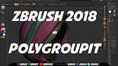 Using Zbrush 2018 on an iPad Pro with Apple Pencil - YouTube