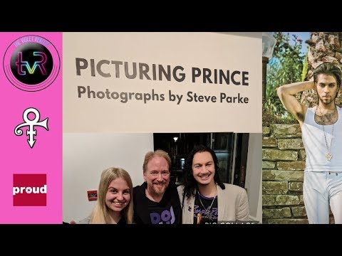 Picturing Prince : Attending the Gallery Launch with Steve Parke!