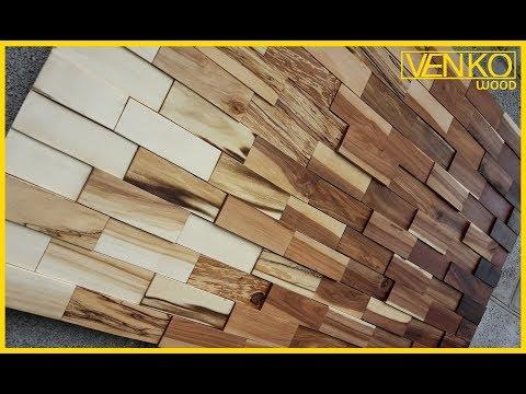 Панно из  дерева | Wood wall panel