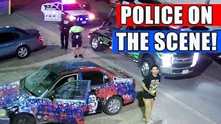 Skater Flees, Cops Catch Tow Truck? WHAT?