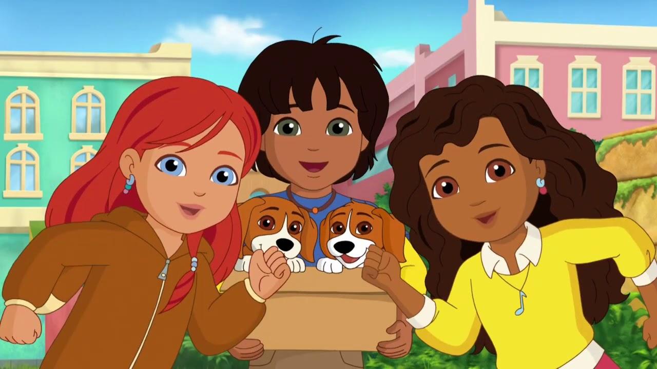 Dora & Friends : Au cœur de la ville | La pyramide | Nick Jr.