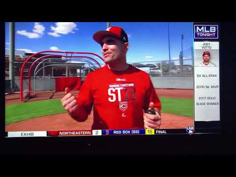Joey Votto Talks Hitting