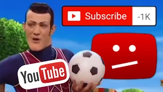 Have you ever heard the sound of every Youtuber losing thousands of subs a minute? YOUTUBE GLITCH