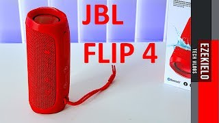 Introducing JBL Flip 4 with SOUND TEST