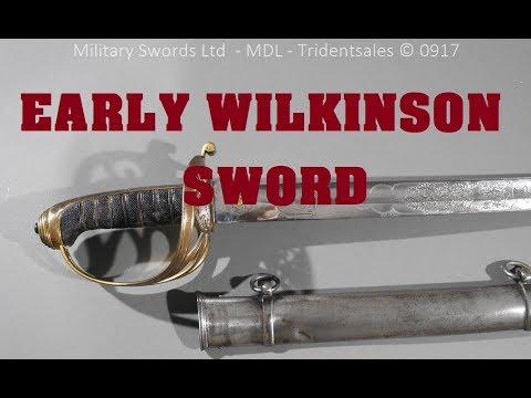 An important early Wilkinson sword