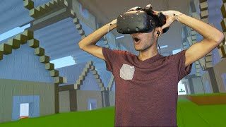 INCEPTION IN VIRTUAL REALITY MINECRAFT!!!  (HTC VIVE)