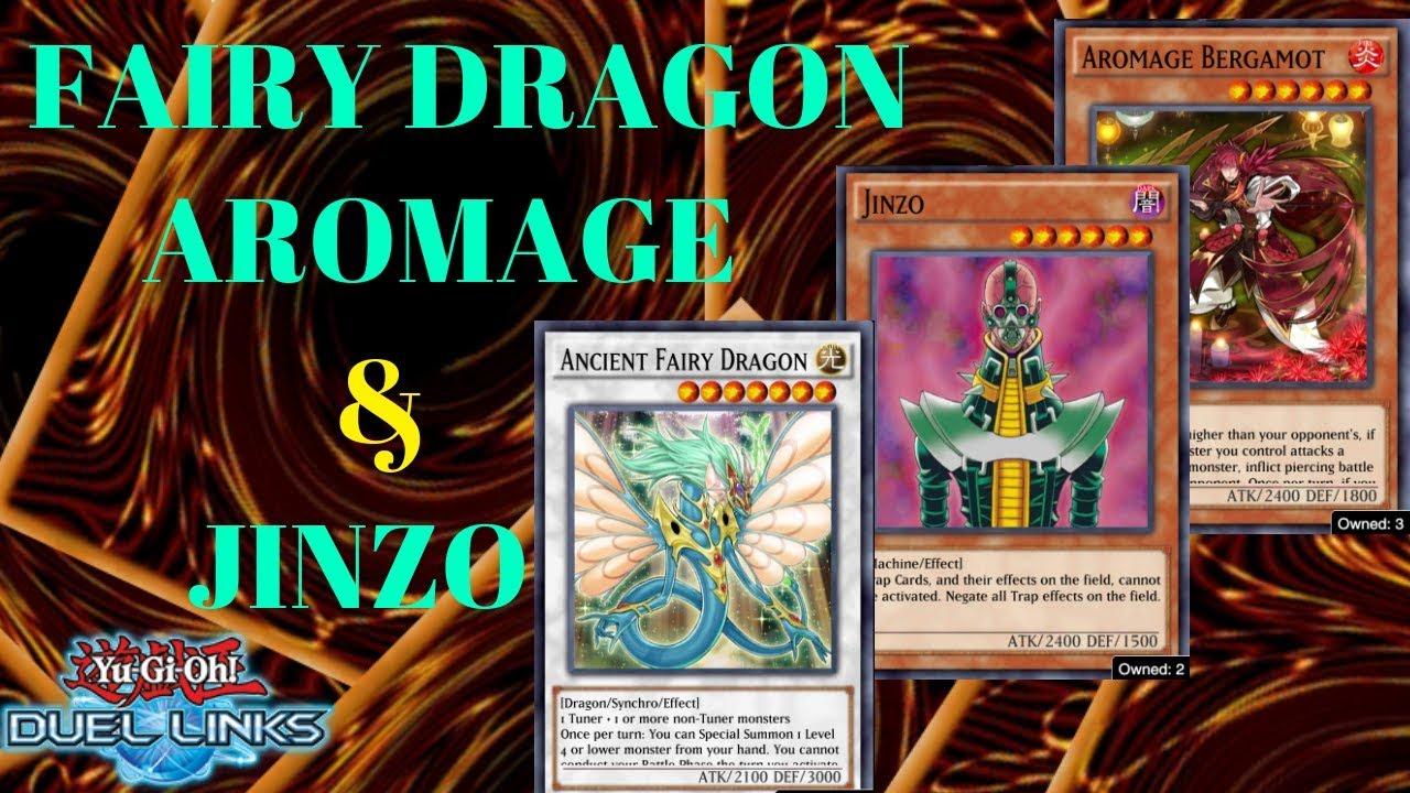 Luna Fairy Dragon Aromage deck Yu-Gi-Oh DuelLinks