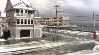 second of two videos of the blizzard and flood in ocean city new jersey january 23 2016