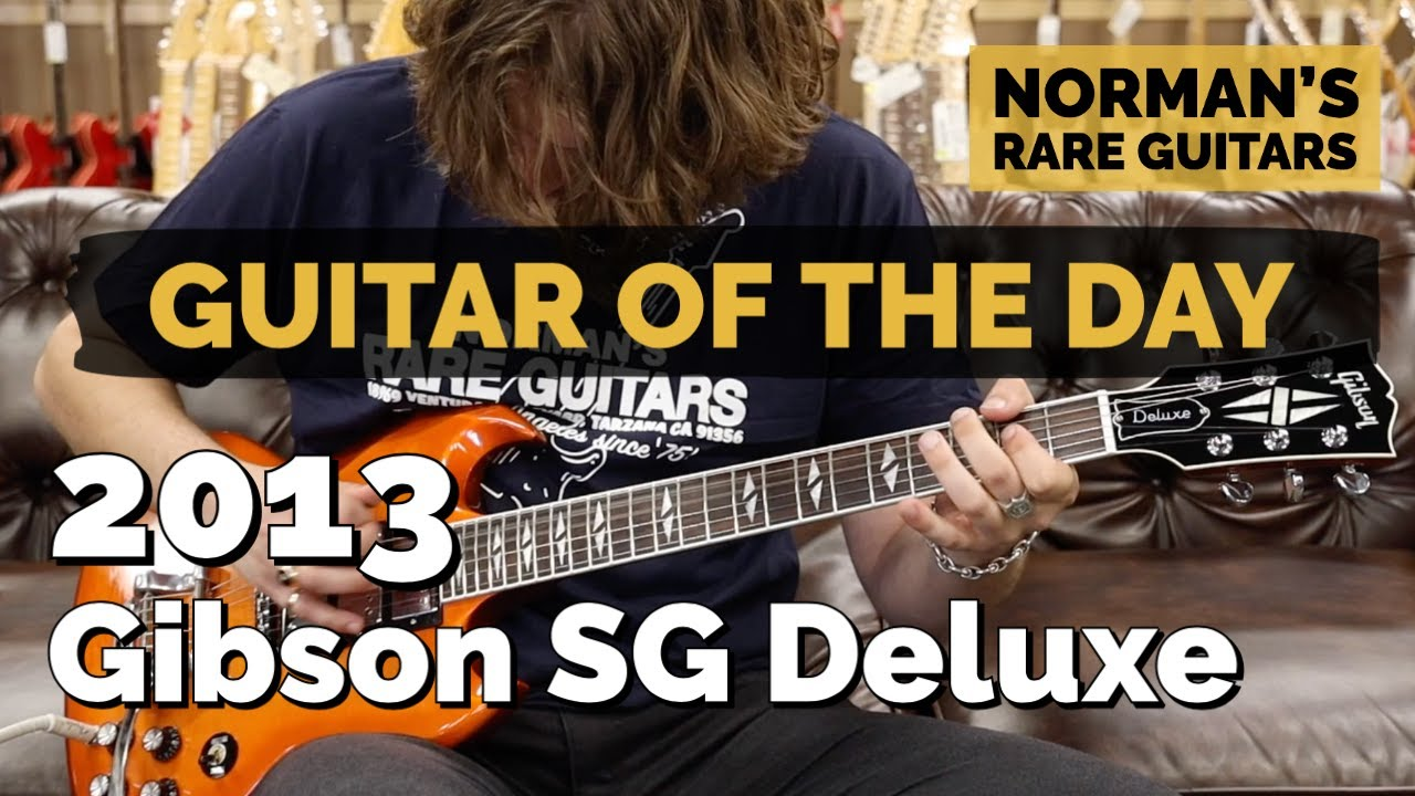 Guitar of the Day: 2013 Gibson SG Deluxe | Norman's Rare Guitars