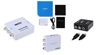 top 5 best av to hdmi converters reviews 2016 best composite to hdmi converter
