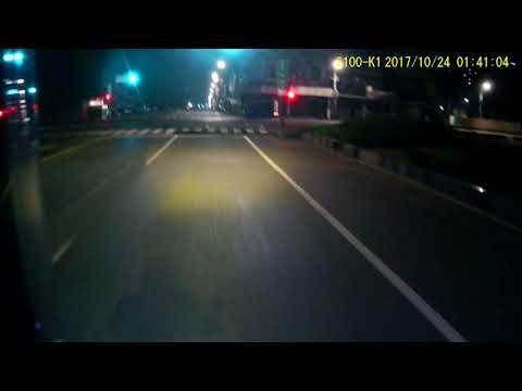 三寶 | 晚上騎車小心 | 隨隨便便都會遇到三寶 | 小發財 | 闖紅燈 | 交通違規