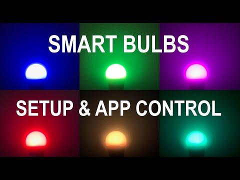How To Control & Setup Smart Bulbs