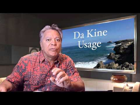 The Daily Pidgin #49 - Da Kine Usage