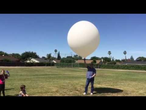 Rancho Las Positas Elementary School weather balloon launch