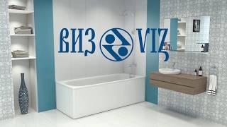 3D-обзор стальных ванн.