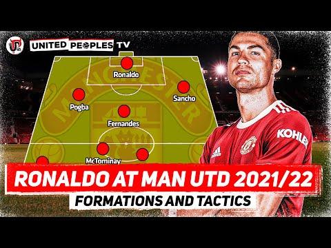 Cristiano Ronaldo At Man Utd 2021/22   Formation & Tactics