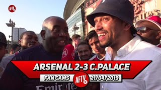 Arsenal 2-3 Crystal Palace   Jenkinson & Elneny Should Only Play If Its A Crisis!