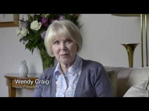 Wendy Craig talks about legacy giving