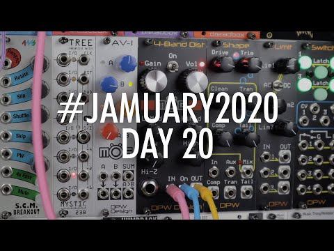 Exploring Multiband Distortion with the DPW Designs MOG // #JAMUARY2020 DAY 20