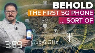 We finally got to see 5G smartphones -- sort of (The 3:59, Ep. 499)