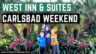 West Inn and Suites Room and Resort Tour | Carlsbad California | Family Travel Vlog 24