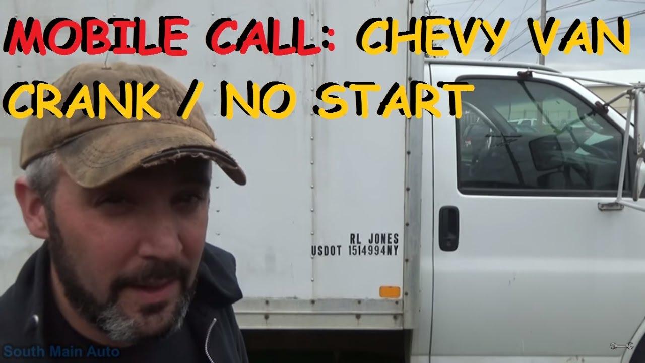 hight resolution of chevrolet express crank no start