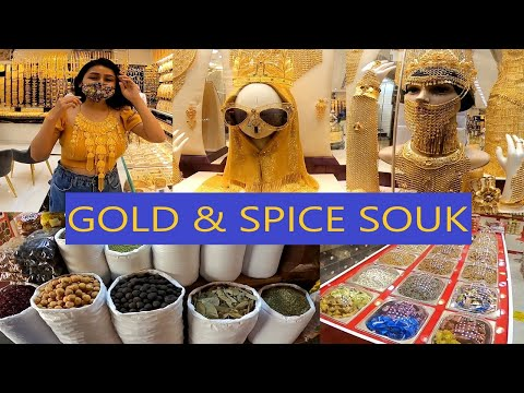 GOLD & SPICE SOUK | Cheapest Gold Market Dubai | Everything You Need To Know | Rover Companion