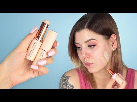 Makeup Revolution Fast Base Stick Foundation | Pierwsze wrażenie