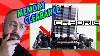 CPU Cooler Memory Clearance - Cryorig H5 Universal Unboxing & Review