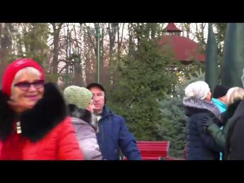 Снова стою одна.Народные танцы,парк Горького,Харьков.