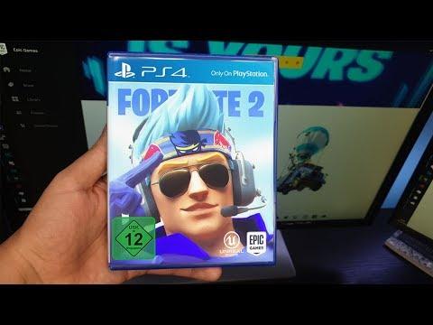 Ich habe Fortnite 2 bekommen! (Unboxing)